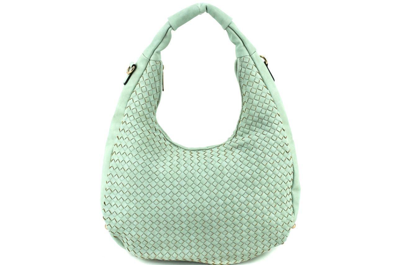 Dámská kabelka - zelená 27311
