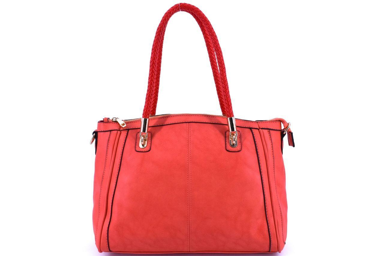Dámská kabelka - světle červená 27144