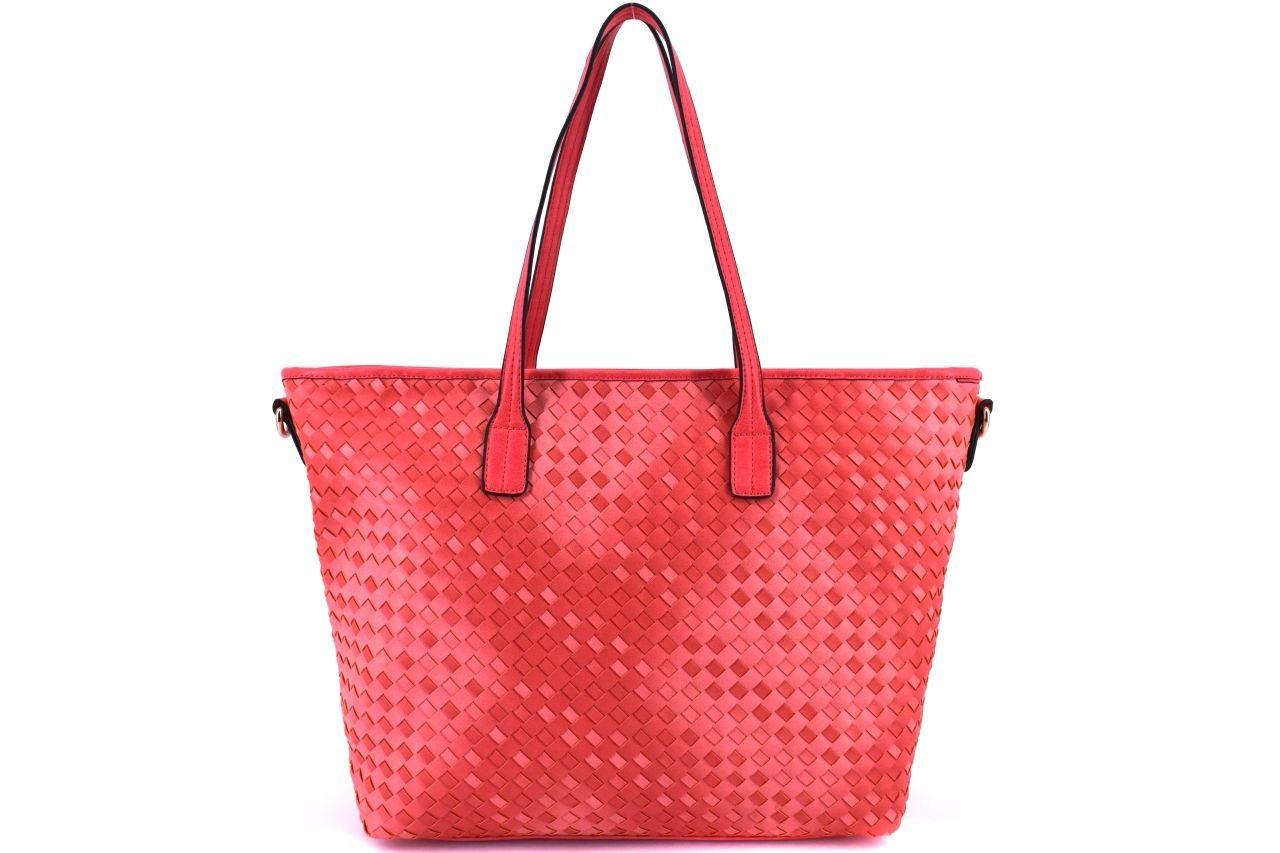 Dámská kabelka - červená 29206