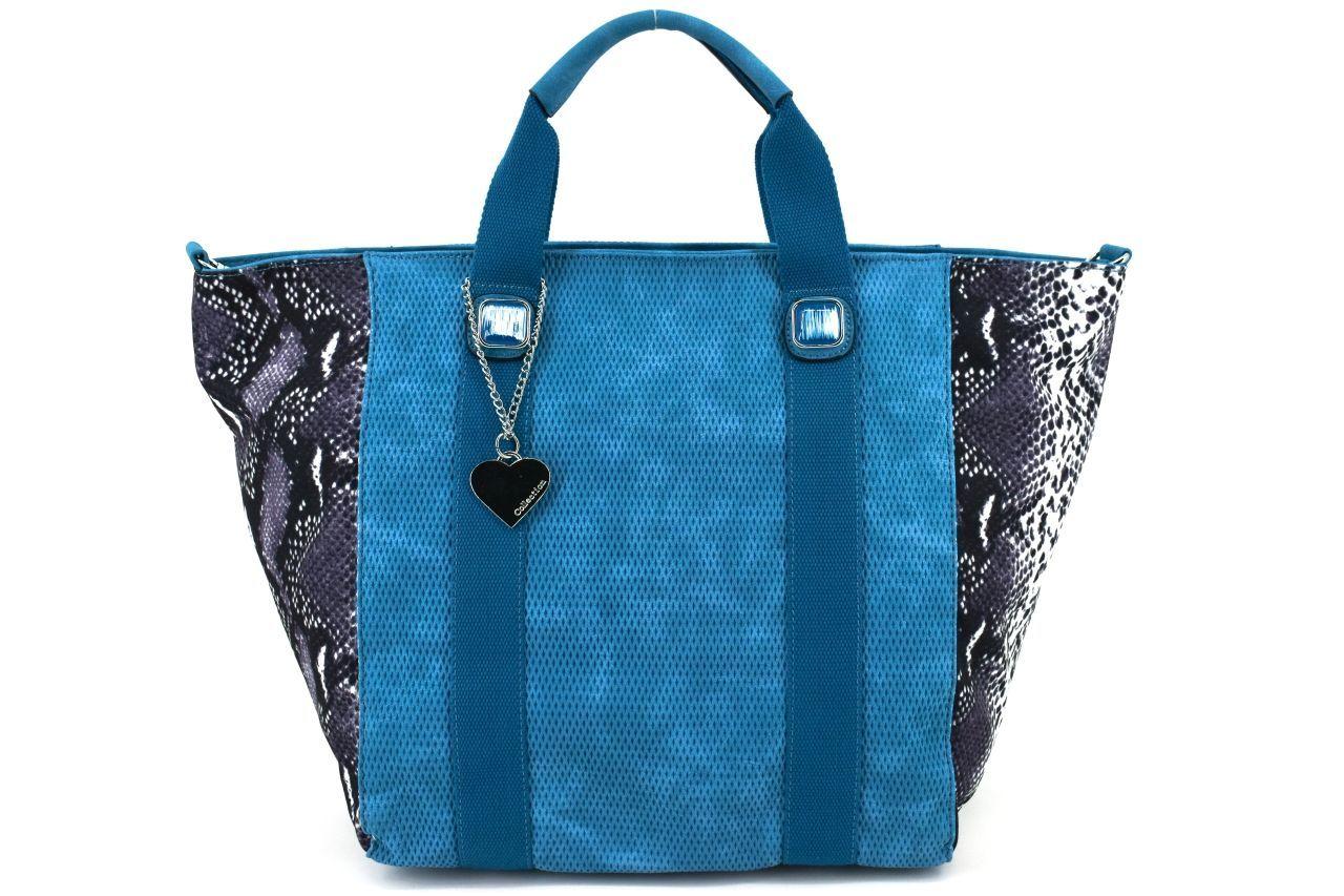 Dámská kabelka - modrá 31125