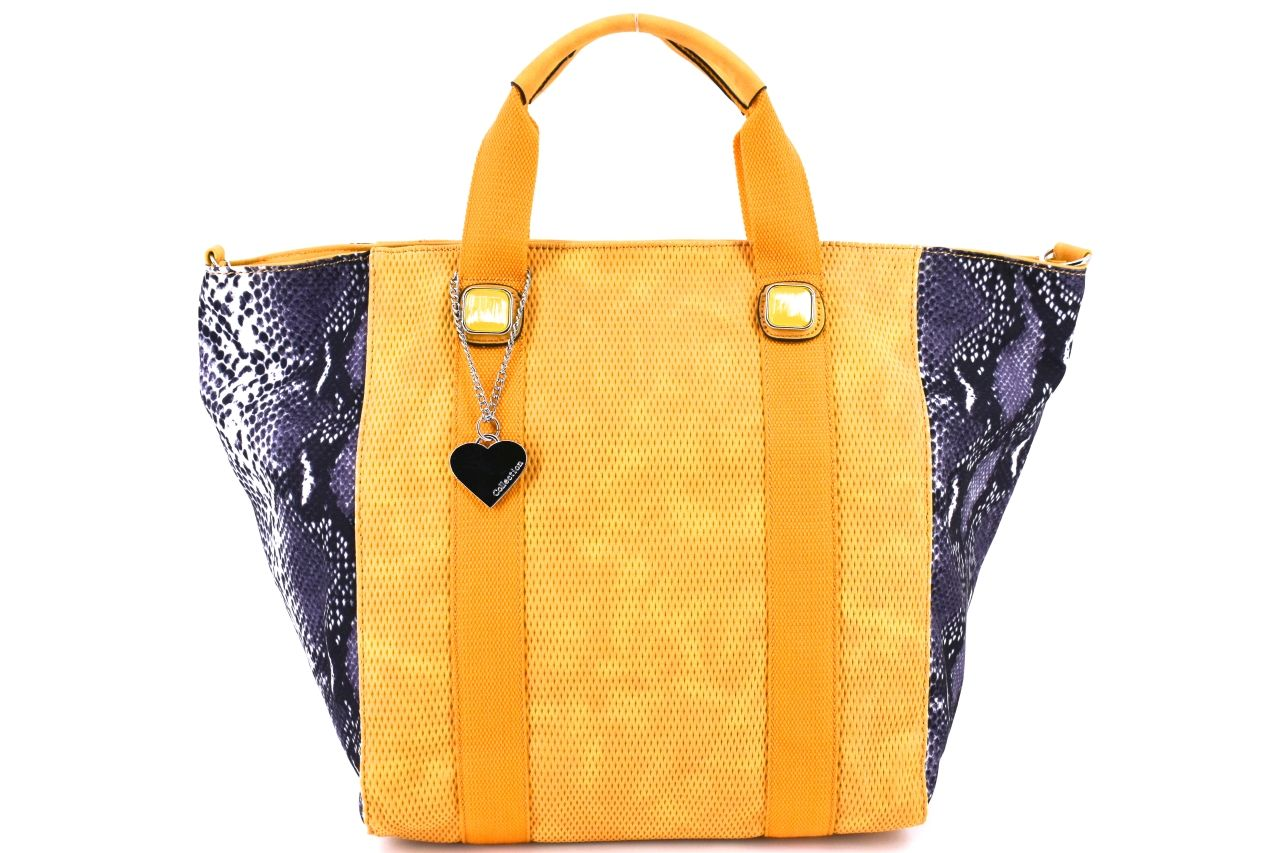Dámská kabelka - žlutá 31125
