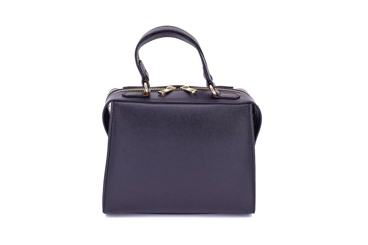 Dámská kožená kabelka Arteddy - černá 33898