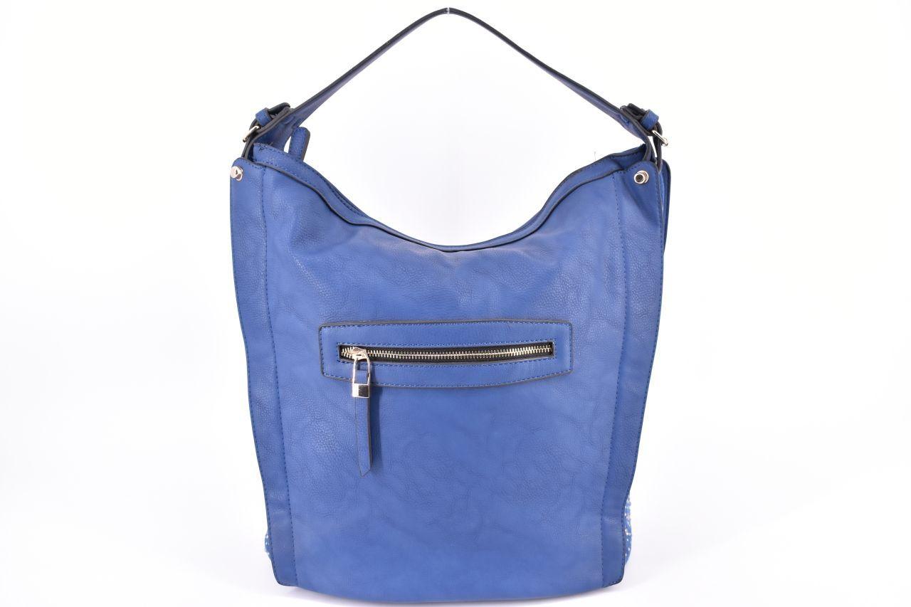 Dámská kabelka - tmavě modrá 27132
