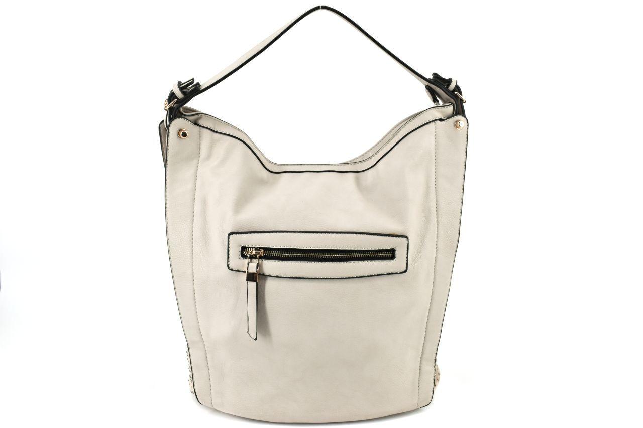 Dámská kabelka - šedá 27132