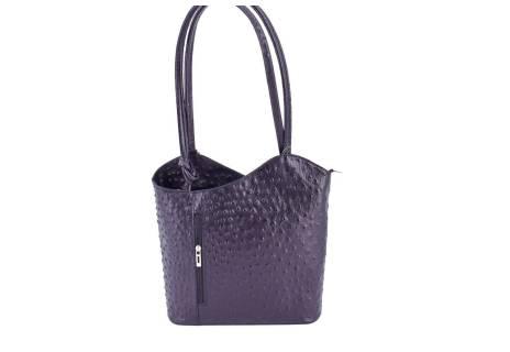 Dámská kožená kabelka/batůžek Arteddy