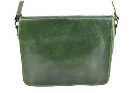 Kožená taška s klopnou Arteddy