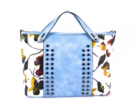Dámská kabelka květovaná