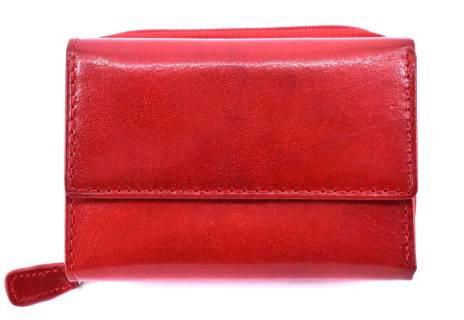 Dámská kožená peněženka Arteddy -černá