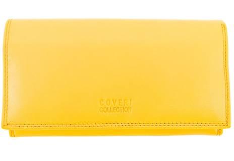 Dámská kožená peněženka Coveri Collection - hnědá