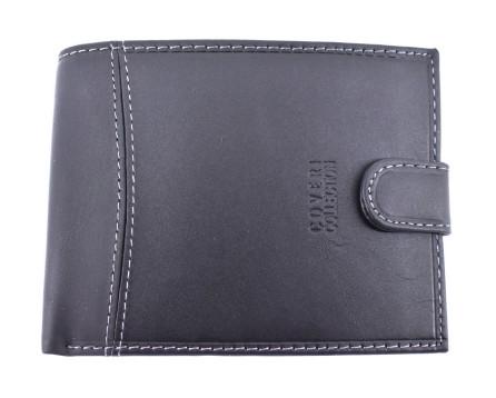 Pánská  kožená peněženka Coveri Collection - černá