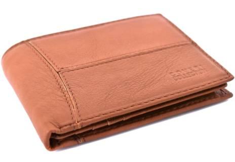 Pánská kožená peněženka Coveri Collection - hnědá