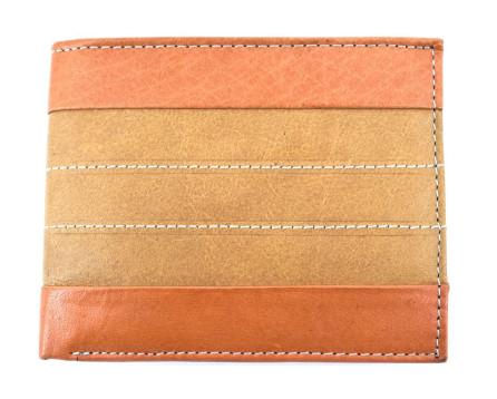 Pánská kožená peněženka Arteddy - camel/béžová