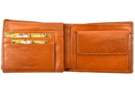 Pánská kožená peněženka Arteddy - camel