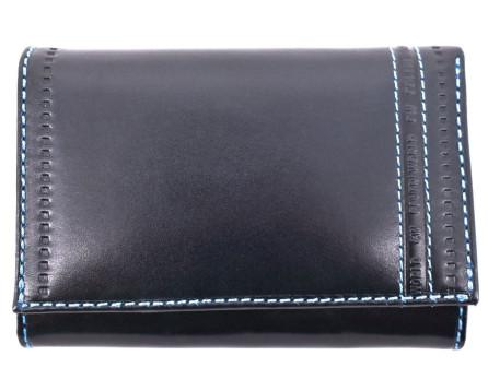 Dámská kožená peněženka Coveri World - tmavě modrá