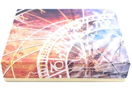Pánská kožená peněženka na šířku Arteddy - tmavě modrá