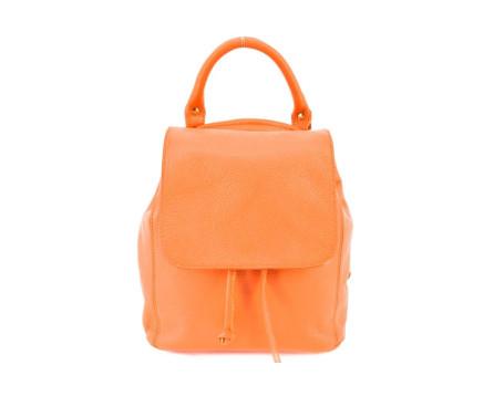 Dámský/dívčí malý kožený batoh a kabelka v jednom s klopnou  Arteddy