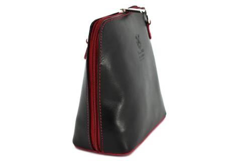 Dámská malá kožená kabelka crossbody Arteddy