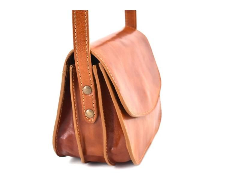 Dámská kožená kabelka crossbody (lovecká) Arteddy. novinka 928d5096289