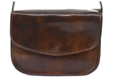 Dámská kožená kabelka crossbody (lovecká)  Arteddy
