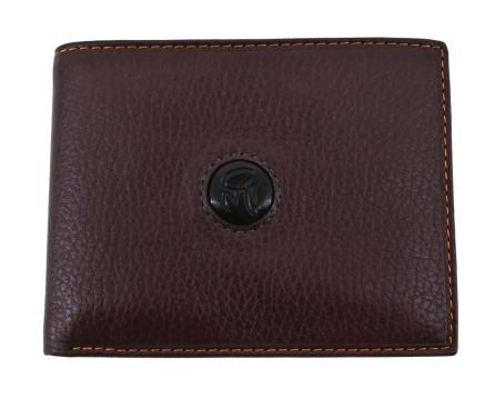 Pánská kožená peněženka  na šířku Gai Mattiolo - hnědá