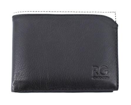 Pánská kožená peněženka Romeo Gigli - černá