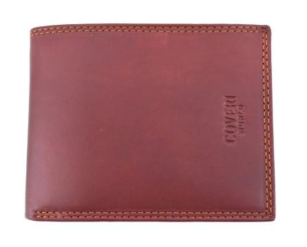 Pánská kožená peněženka Coveri World - hnědá