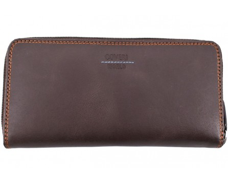 Dámská kožená peněženka pozdrového typu Coveri World
