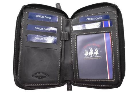 Dámská kožená peněženka pouzdrového typu Harvey Miller