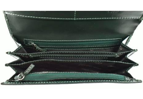 Dámská velká kožená peněženka Coveri World