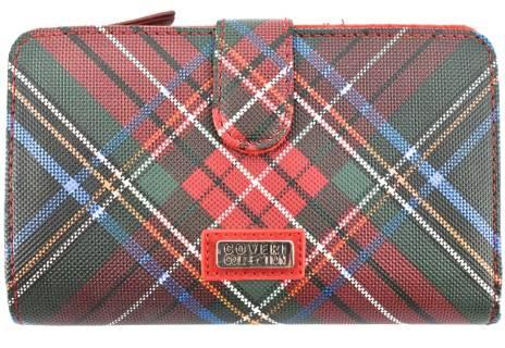 Dámská károvaná peněženka Coveri