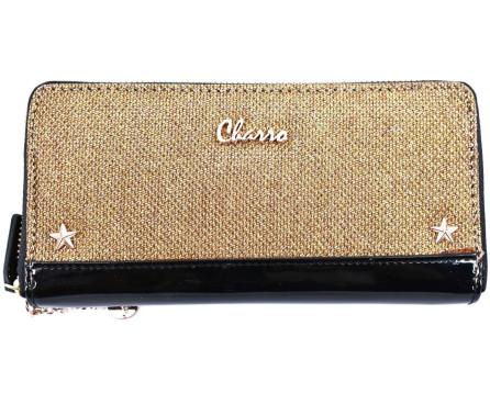 Dámská / dívčí peněženka  pouzdrového typu Charro - zlatá
