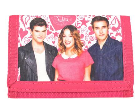 Dívčí peněženka  Violetta - růžová