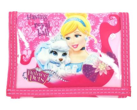 Dívčí peněženka Disney Palace Pets - růžová