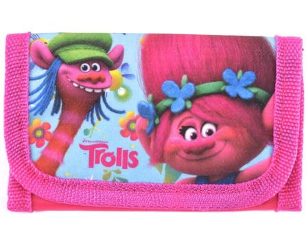 Dívčí peněženka Trolls - růžová