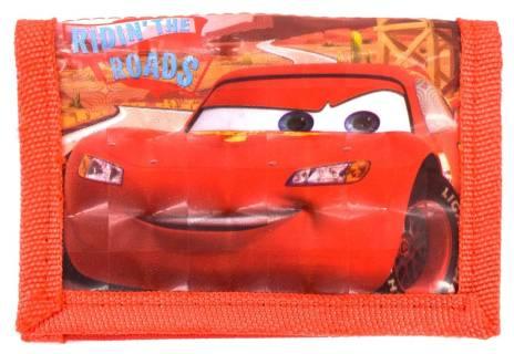 Dětská peněženka Disney Cars - červená