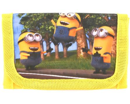 Dětská peněženka Minions - žlutá