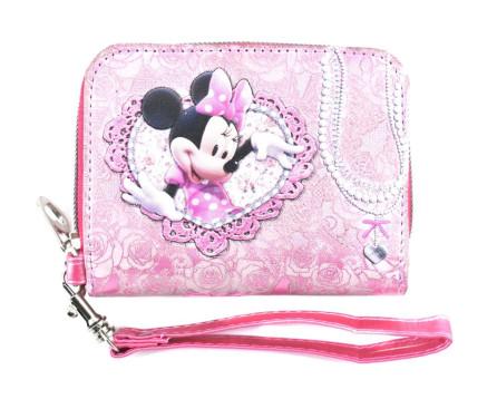 Dívčí peněženka Disney Minnie - růžová