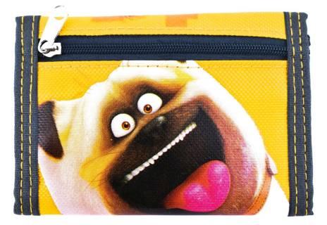 Dětská peněženka Pets - žlutá