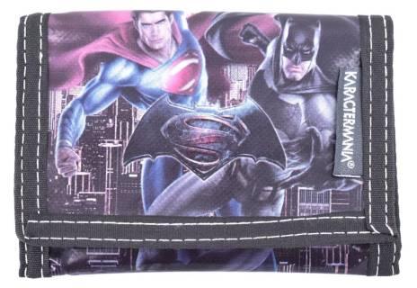 Dětská peněženka Batman - šedá