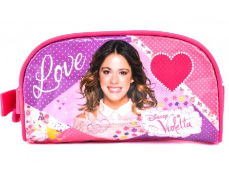 Dívčí  kosmetická kabelka Disney Violetta - růžová