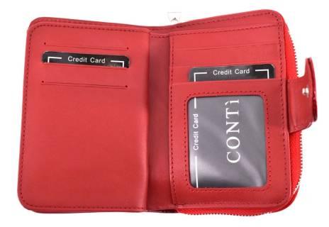 Dámská kožená lakovaná peněženka CONTI