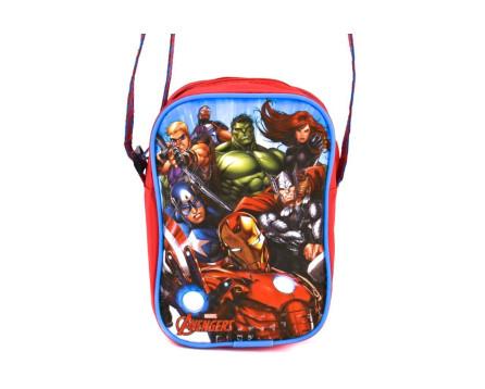 Dětská kabelka Avengers - červená