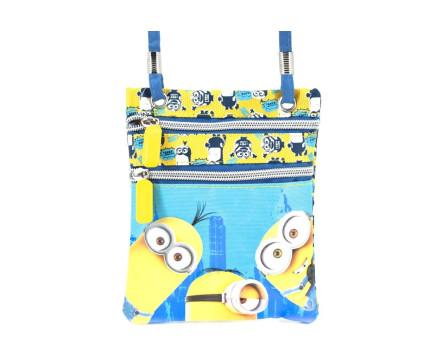 Dětská kabelka Minions - modrá