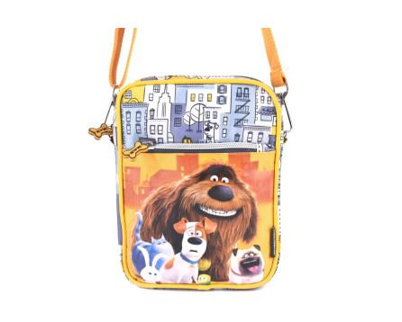 Dětská taška crossbody Pets - žlutá