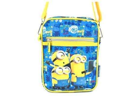 Dětská taška crossbody Minions - modrá