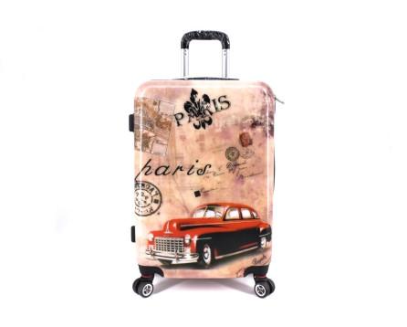Cestovní skořepina kufr na čtyřech kolečkách Arteddy - Paris (M) 70l