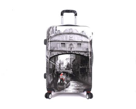 Cestovní skořepina kufr na čtyřech kolečkách Arteddy - Venezia (L)