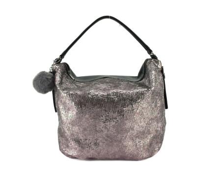 Dámská kabelka Tommasini s přívěskem pompon
