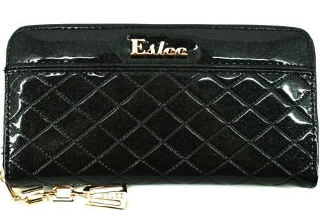 Dámská / dívčí lakovaná peněženka  pouzdrového typu Eslee