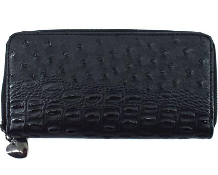 Dámská / dívčí  peněženka  pouzdrového typu kroko